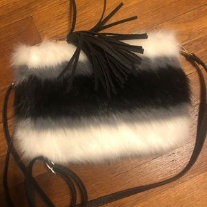 Bam Forever Furry Shoulder Bag
